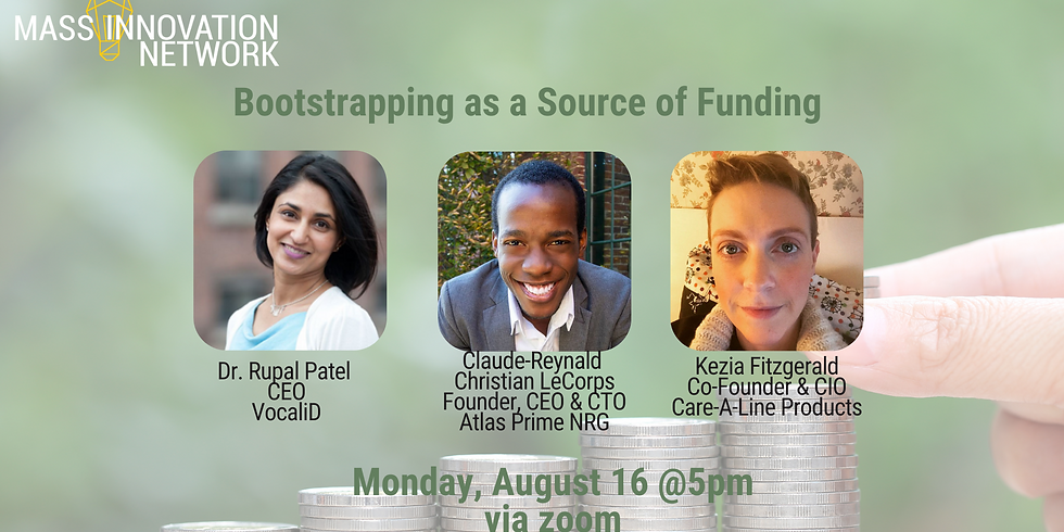 Bootstrapping as a Source of Funding