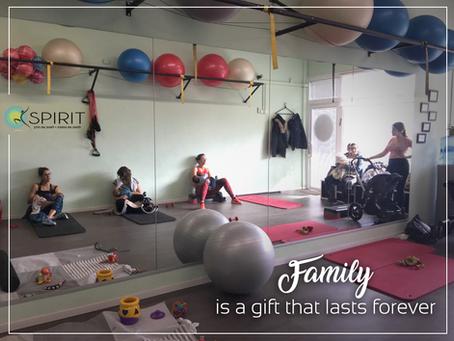 חופשת לידה בסטודיו SPIRIT