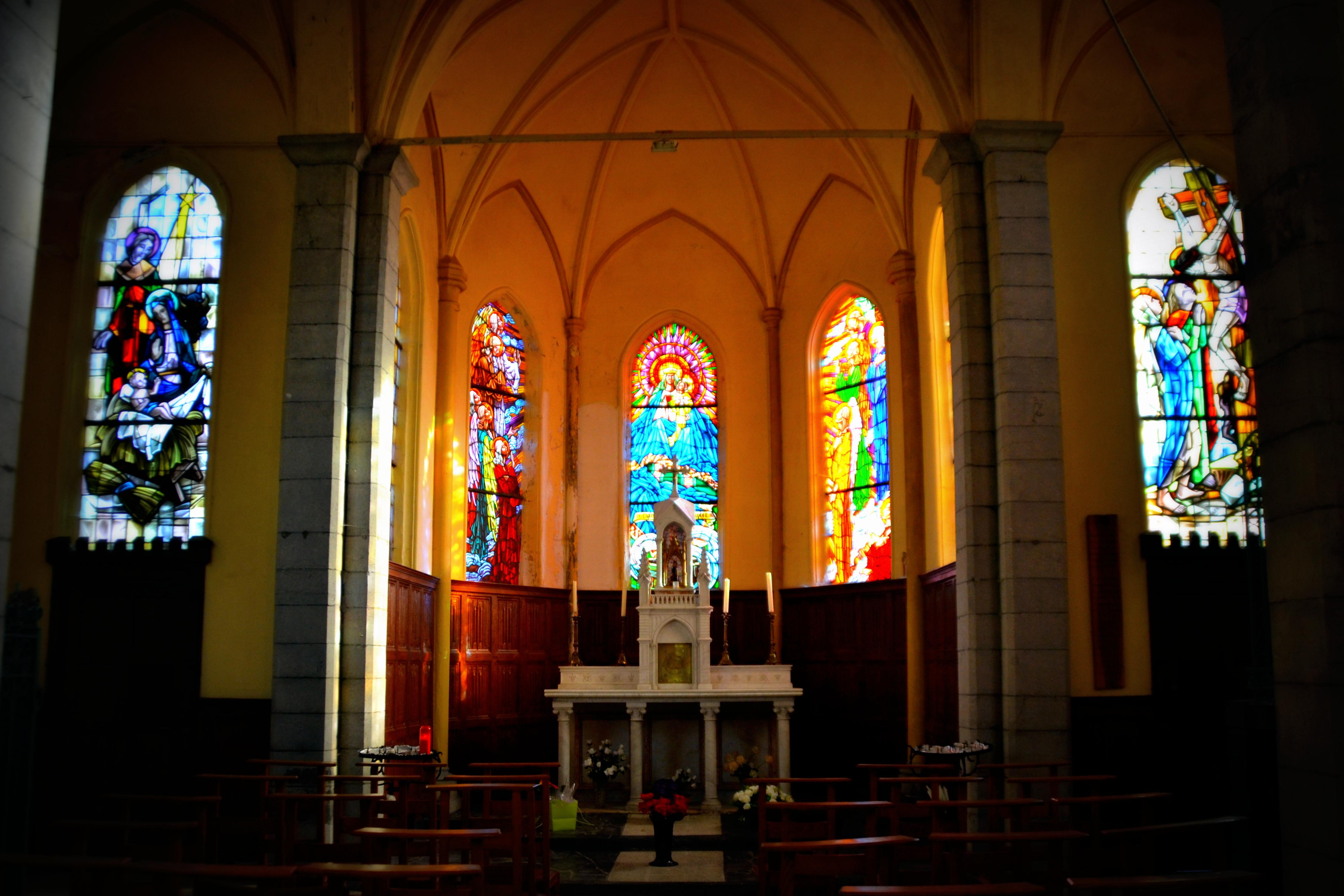 Intérieur de la chapelle Notre-Dame