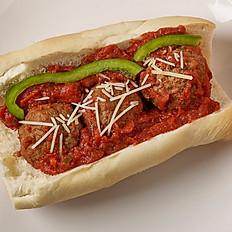 Italian Meatballs Sandwich