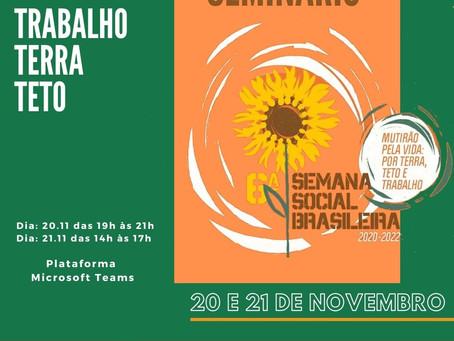 Seminário da 6ª Semana Social Brasileira no NE2
