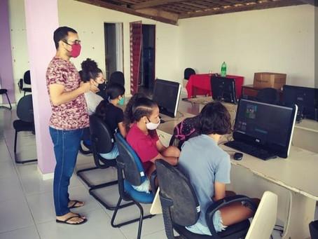 SPM - Bayeux realiza oficina de edição de vídeo com jovens