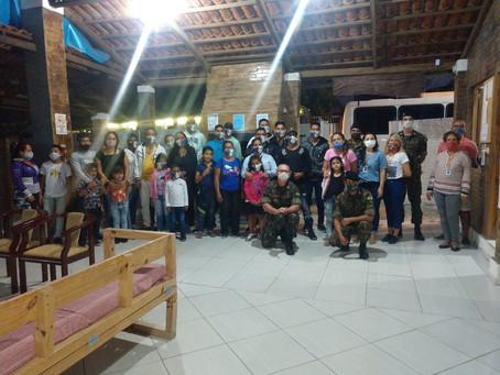 SPM NE acolhe novo grupo de 28 venezuelanos/as