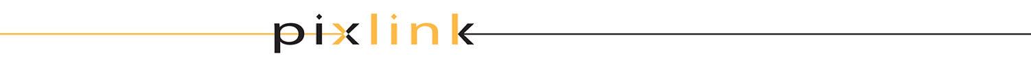 Pixlink white logo