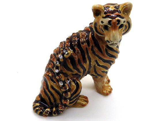 Jungle Tiger Mini Figurine By Strongwater