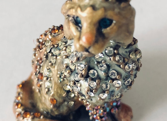 Jay Strongwater Cat with Crystals