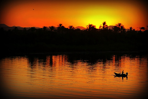 The Nile's Golden Glow, Egypt