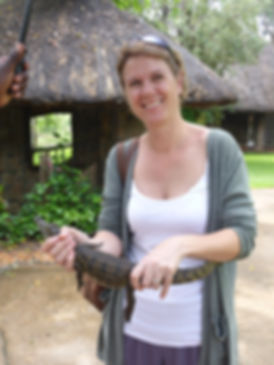 Garaldine Gifford of revealing africa, reveaing africa, african safari, Maun, Botswana