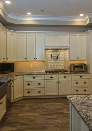 Custom Home, new kitchen