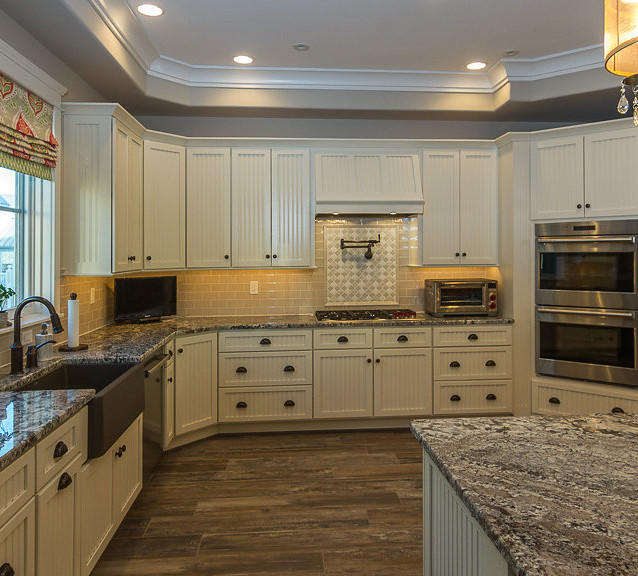 Custom Home, new kitchen