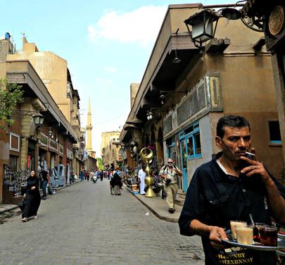 A Smoky Saturday in Cairo