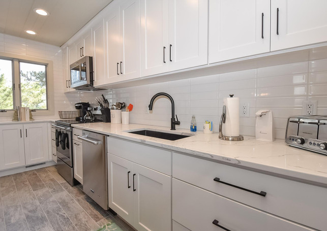 Kitchen remodel to Bethany cottage