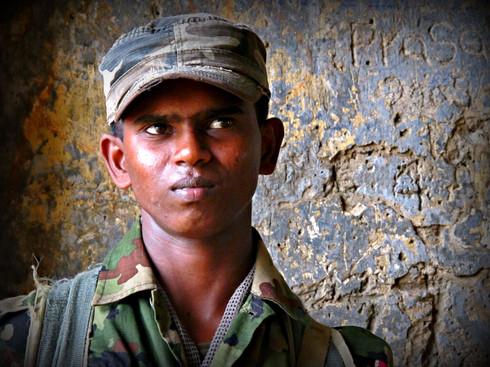 An Officer Checks Out, Sri Lanka