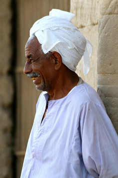 A Guard Giggles, Egypt