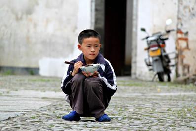 A Village Boy Settles Down, China