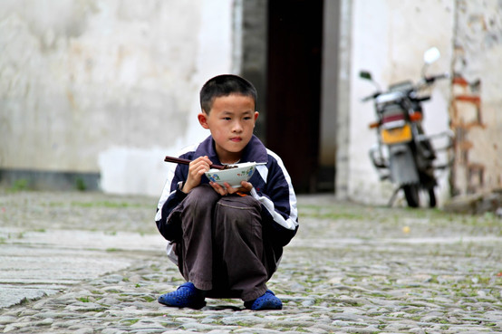 A Village Boy Settles Down, China