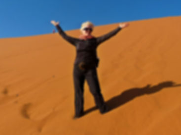 Karen Loftus - Nambia - Red Dunes - Women Adventure Travels