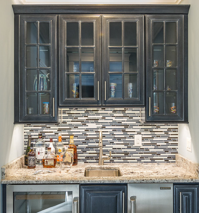 Custom wet bar, Ocean City