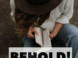 Live Bravely:  Behold! My Word of the Year