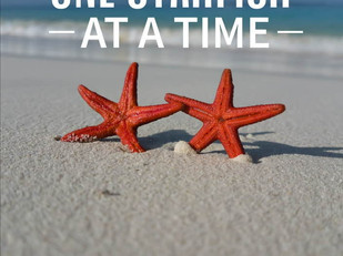 Live Bravely: One Starfish At A Time