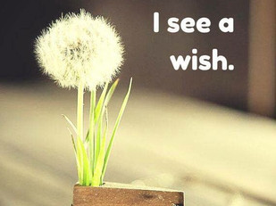 Wishes, Not Weeds.