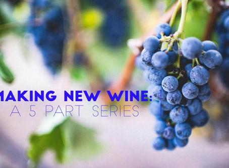 Living Bravely: Making New Wine: Part 1