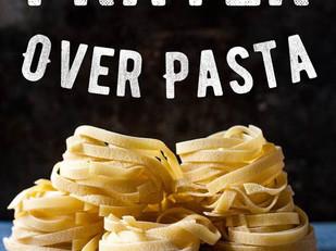 Live Bravely: Prayer Over Pasta