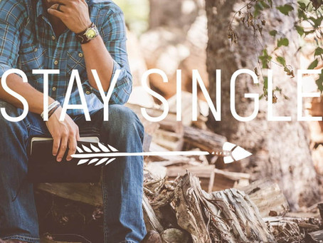 Live Bravely: Stay Single