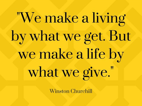 Are Giving What You Want, or Are You Being What You Need?