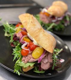 Oksemørbra Sandwich