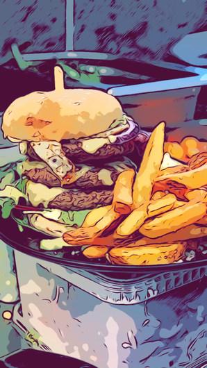 Burger  by ALT GODT