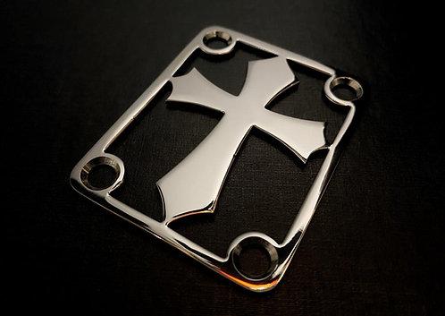 Neck Plate Cruz (INOX)