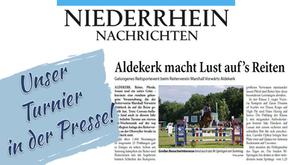 Unser Turnier in der Presse!