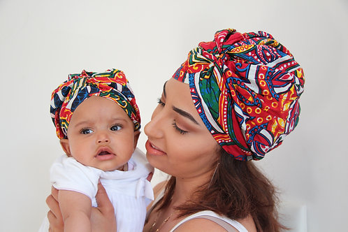 Duo TURBAN patchwork