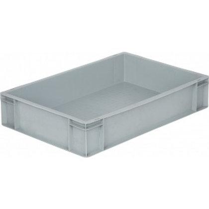 арт. 807 Пластиковый ящик 600х400х120 дно с усилением, серый B-4611