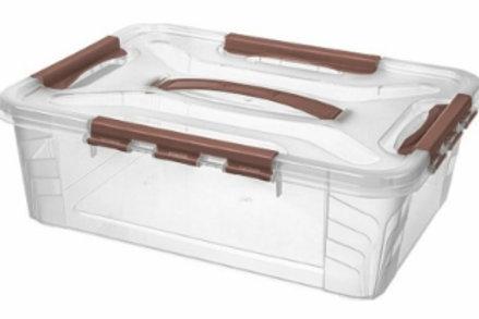 Пластиковый контейнер для хранения 390х290х124 Арт.GRAND BOX 10-2