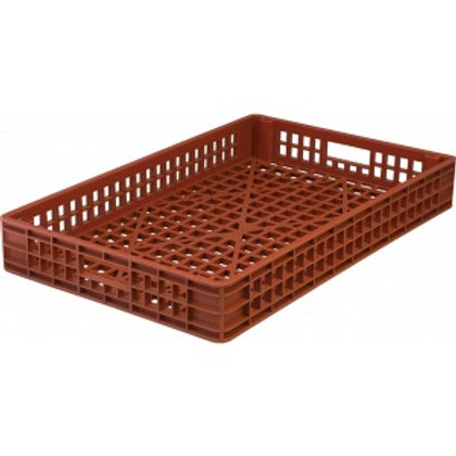 арт. 402 Пластиковый ящик 740х460х102 хлебный