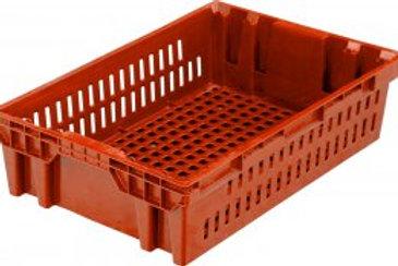 арт. 403-1 Пластиковый ящик 600х400х152,5 хлебный, морозостойкий вес 1,4 кг.