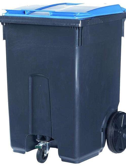Мусорный контейнер 370 литров на 3-х колёсах
