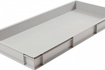 арт. 816 Пластиковый ящик 1000х400х120 дно с усилением, серый B-4011