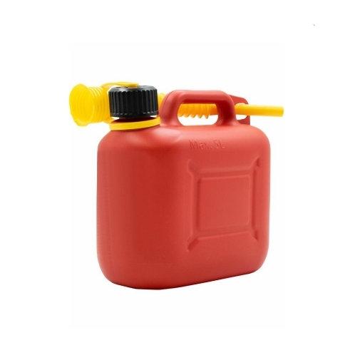 Пластиковая канистра для топлива 5 л КП-ГСМ 5 красная