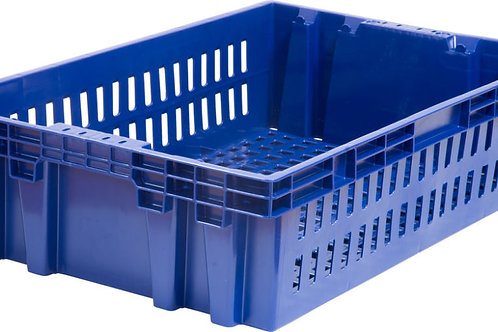 арт. 403-2 Пластиковый ящик 600х400х152,5 хлебный, морозостойкий вес 1,2 кг
