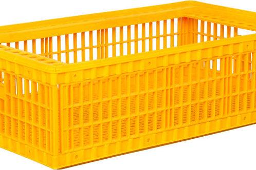 арт. 311 б/к Пластиковый ящик 970х570х270 для перевозки живой птицы (без крышки)