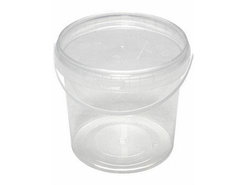 Ведро пластиковое 1 л ВП 1 б/ц