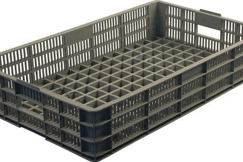 арт. 401-А Пластиковый ящик 740х465х145 хлебный