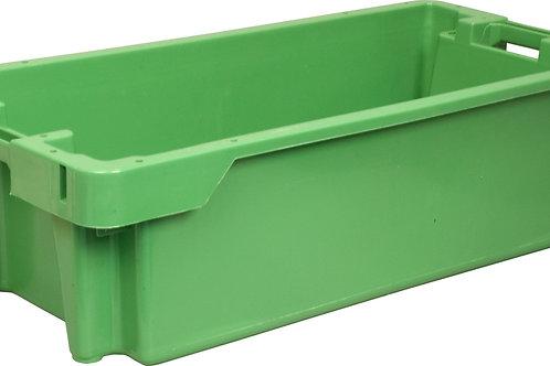 арт. 211 Пластиковый ящик 800х400х225 рыбный сплошной