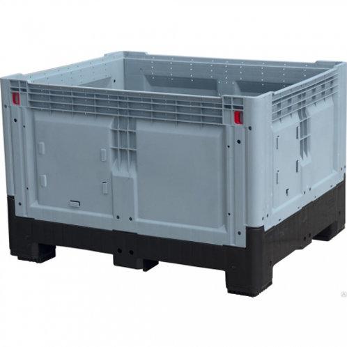 DPF-Box 1210S 1200x1000x800 мм сплошной разборный серый на четырех ножках