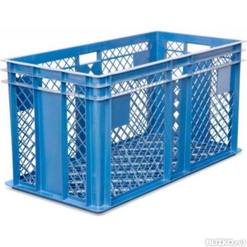 арт. 316 Пластиковый ящик 800х400х410 для перевозки живой птицы