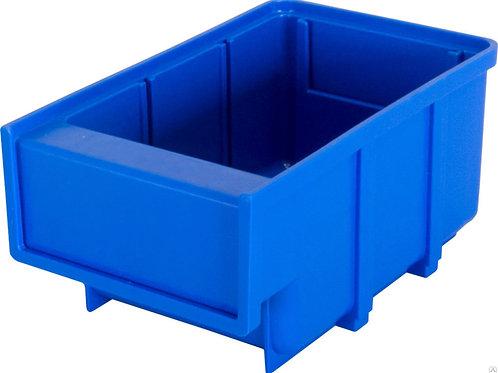 арт. 6001 Пластиковый ящик 70x105x80 синий