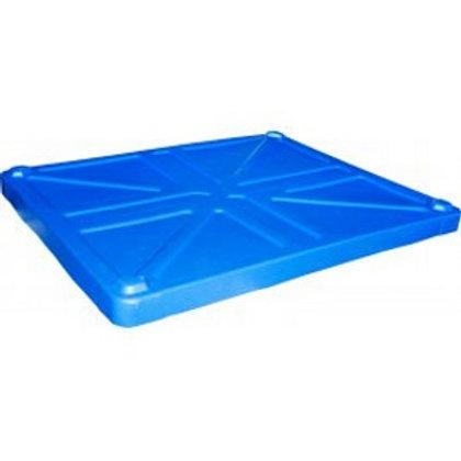 арт. 1000 RUS Крышка для BoxPallet 1230х1040х80 мм синий
